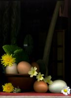 76_Collecting_Eggs_on_a_Spring_Day
